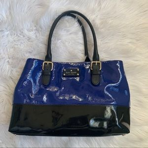 Kate Spade Elena Carlisle Street in black & blue